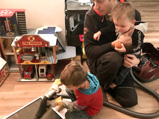 Cleaning your furnace filter can be fun for the whole family!