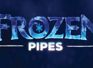 It's Frozen Pipe Season!