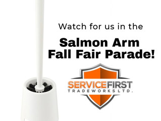 Watch For Us In The Salmon Arm Fall Fair Parade!