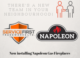 NEW Partnership with Napoleon Fireplaces