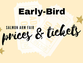 Two Days Left to get your Early-Bird Tickets!!