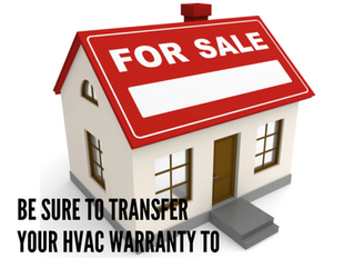 Don't Forget To Transfer Your Warranty If You Are Selling Your Home :)