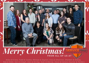 Merry Christmas from all of us at Service First Tradeworks!