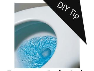 DIY Tip - Test your toilet for leaks