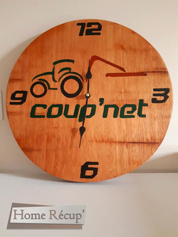 Horloge Coup'Net