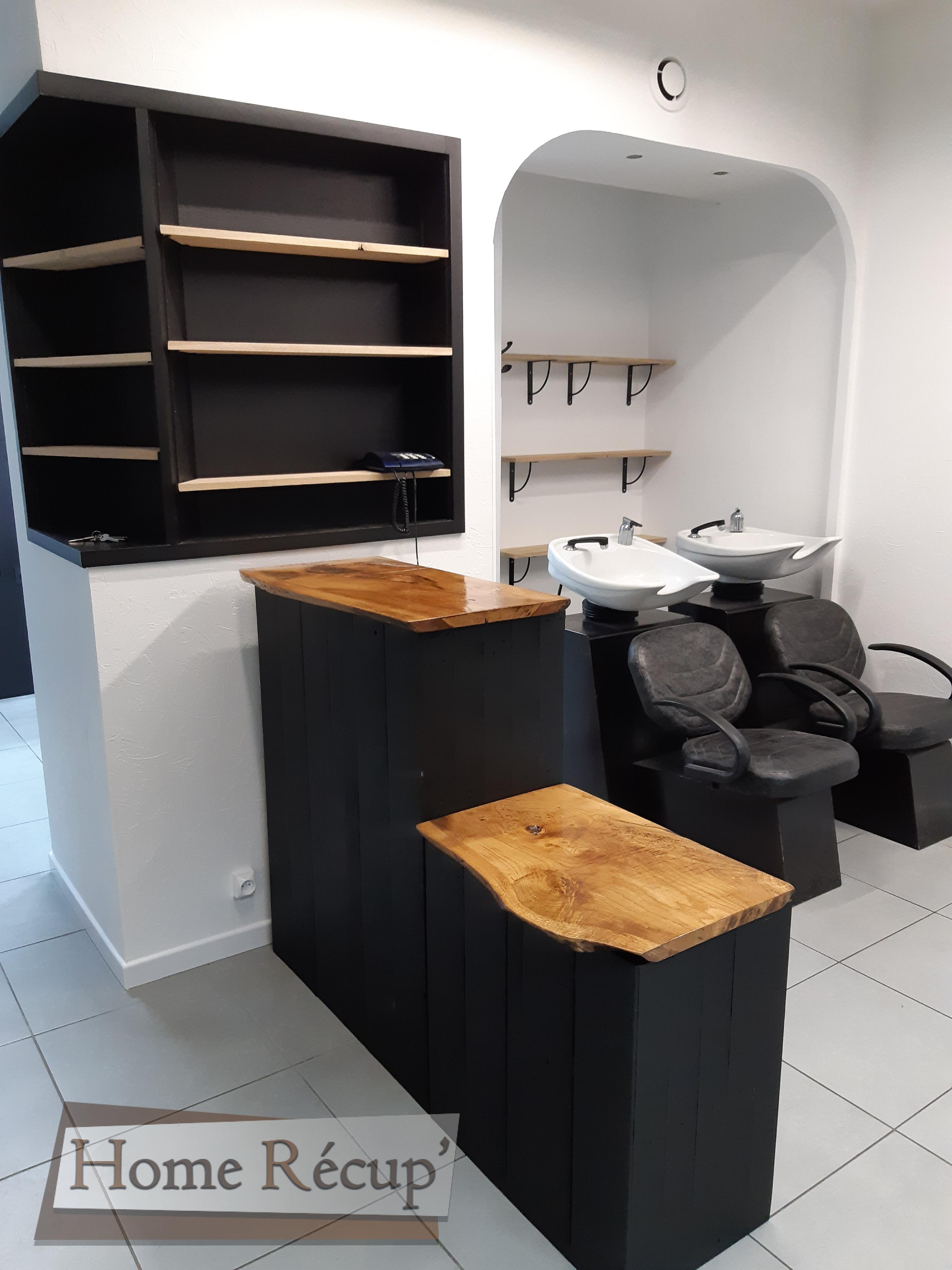 comptoir salon de coiffure