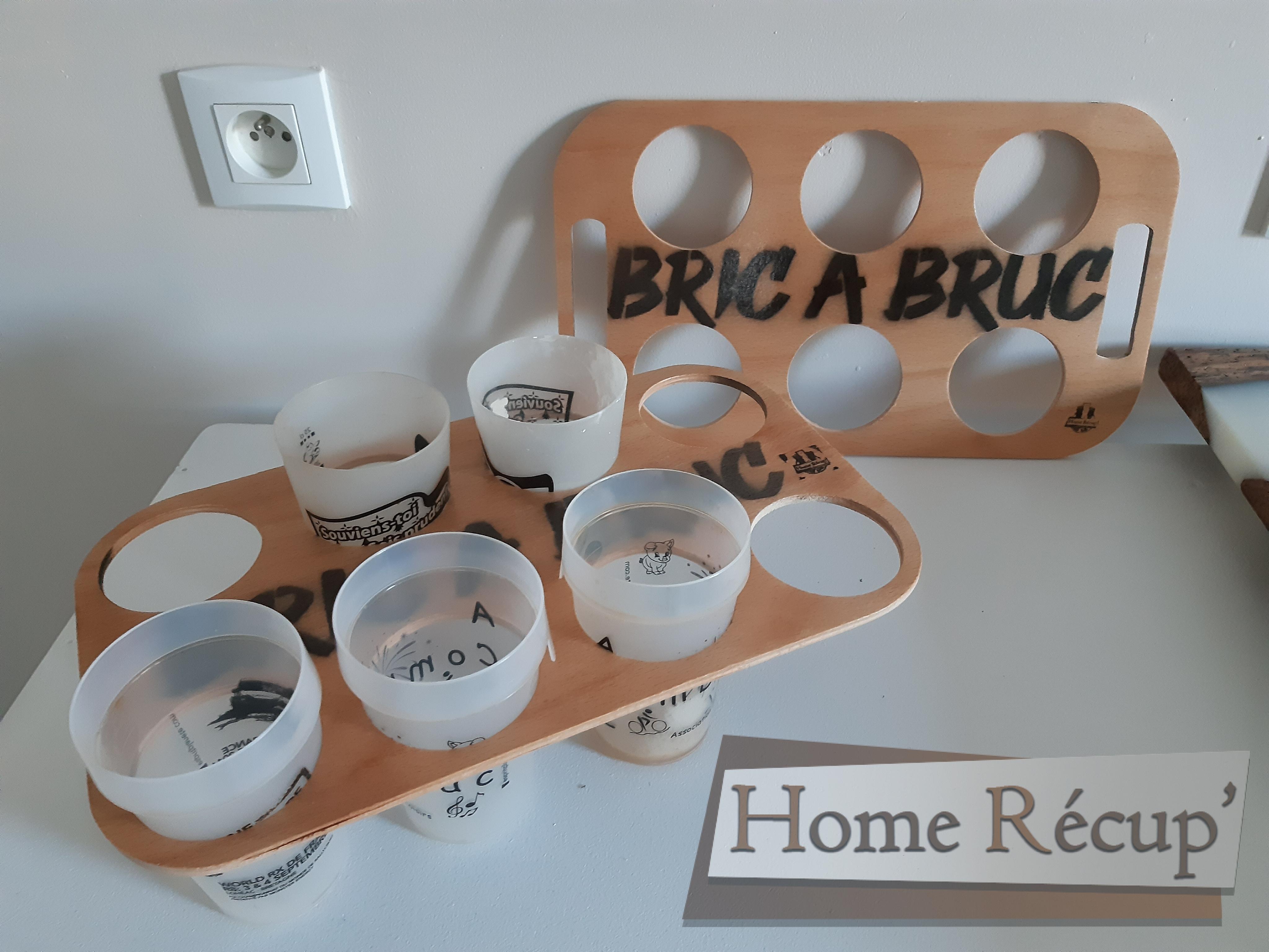 porte gobelet Bric à Bruc