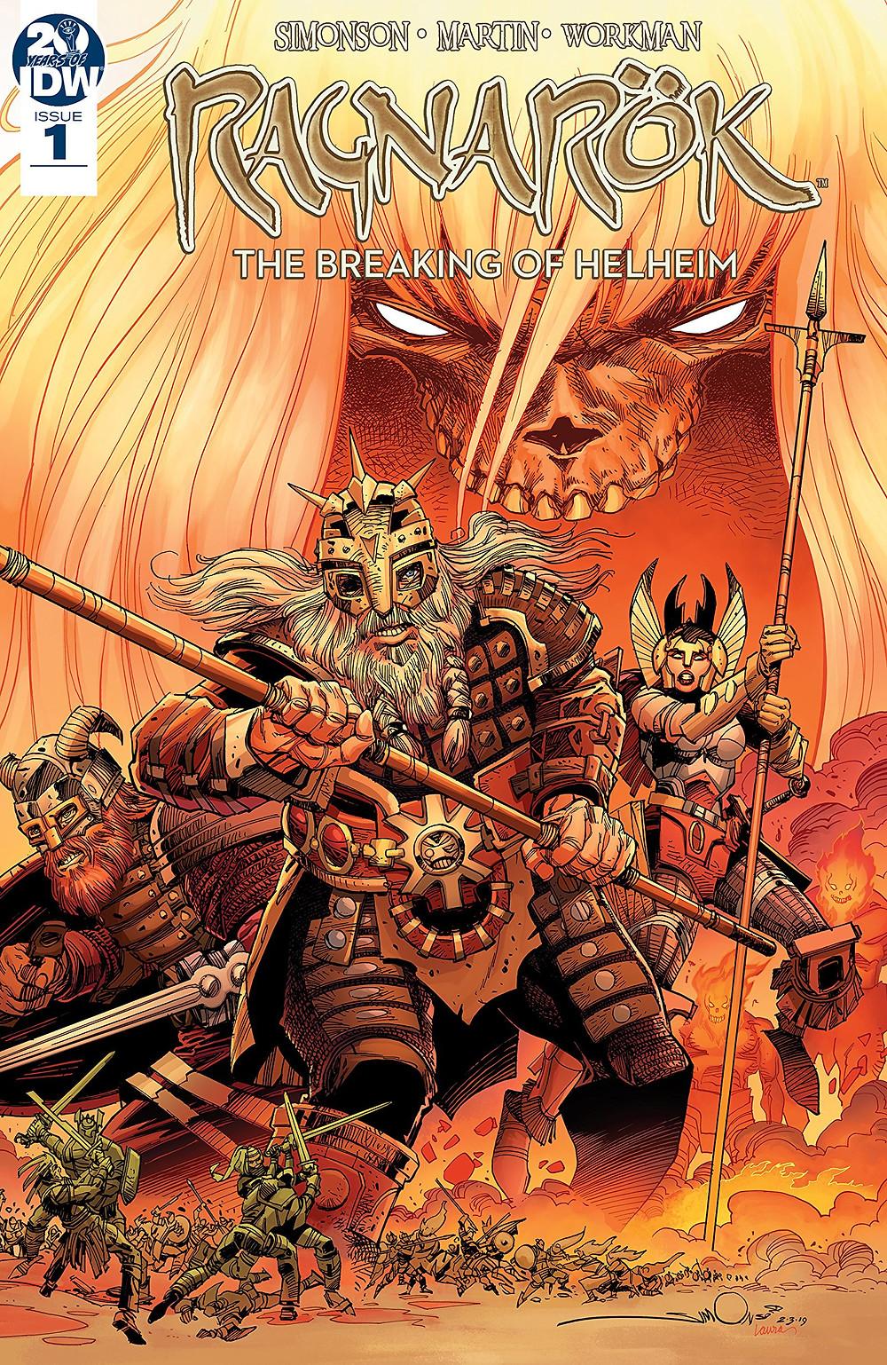 Ragnarök, The Breaking of Helheim, issue #1, cover, Simonson/Martin/Workman