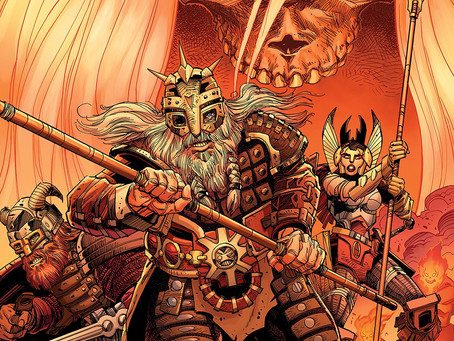 RAGNARÖK: THE BREAKING OF HELHEIM, ISSUE #1: THE DOOM OF THE POWERS