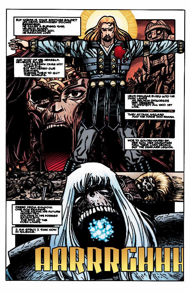 Ragnarök, The Breaking of Helheim, issue #1, Simonson/Martin/Workman