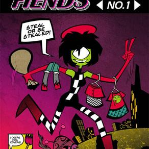 FASHION FIENDS, ISSUE #1