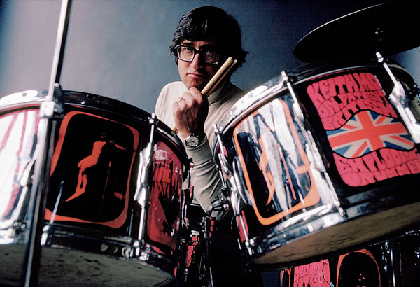 Art Kane on Keith Moon's Drums