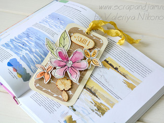 Мастер-класс по созданию закладки для книги