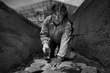 Mujeres constructoras