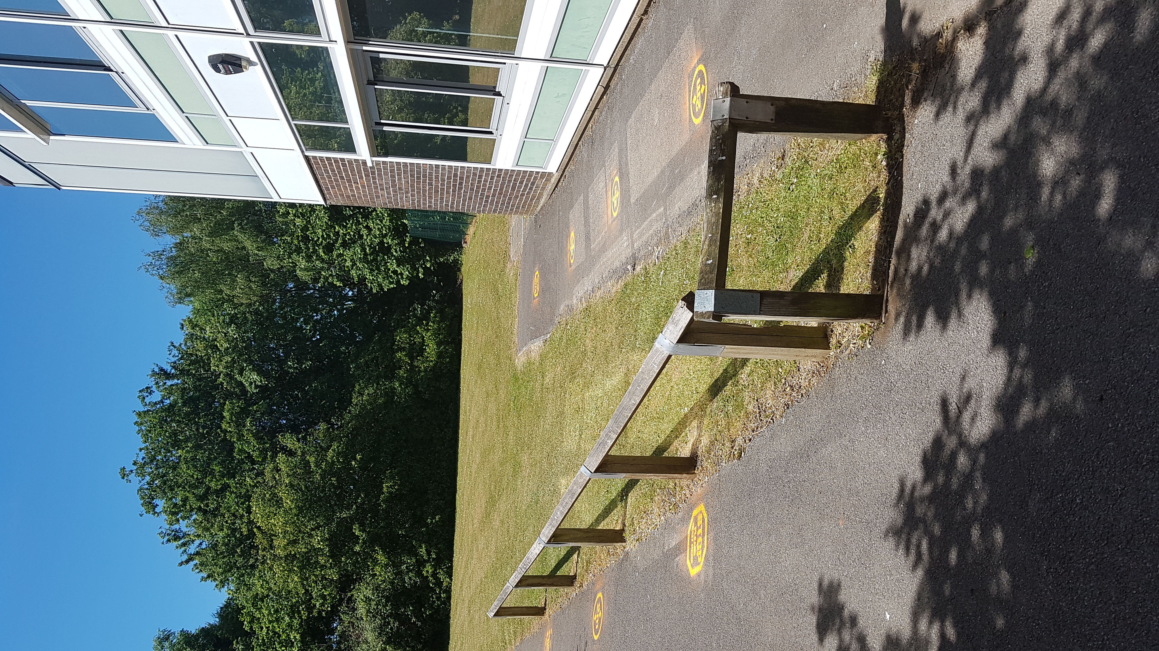 The Approach to Year 5's Entrance
