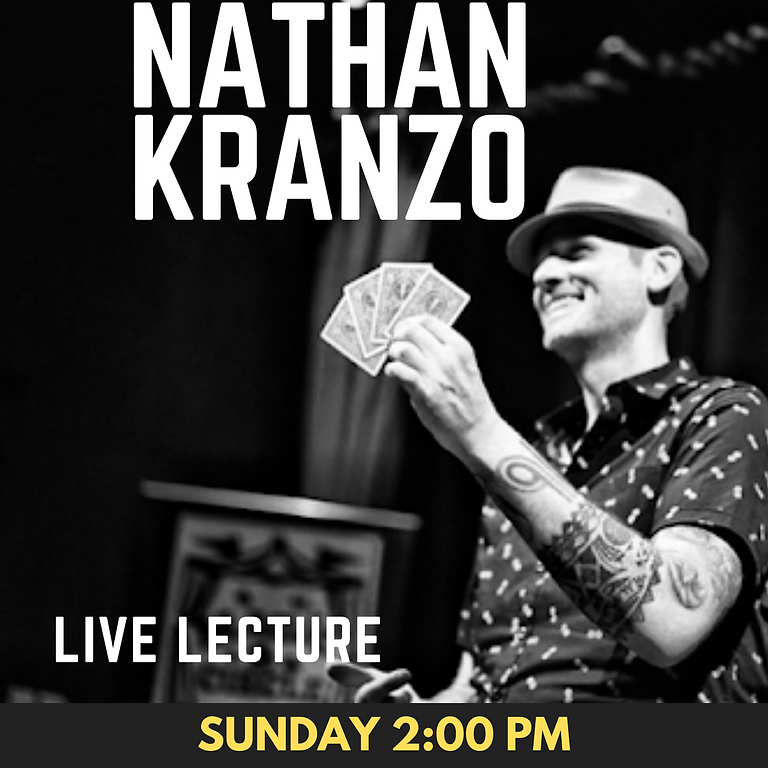 Nathan Kranzo Live Lecture