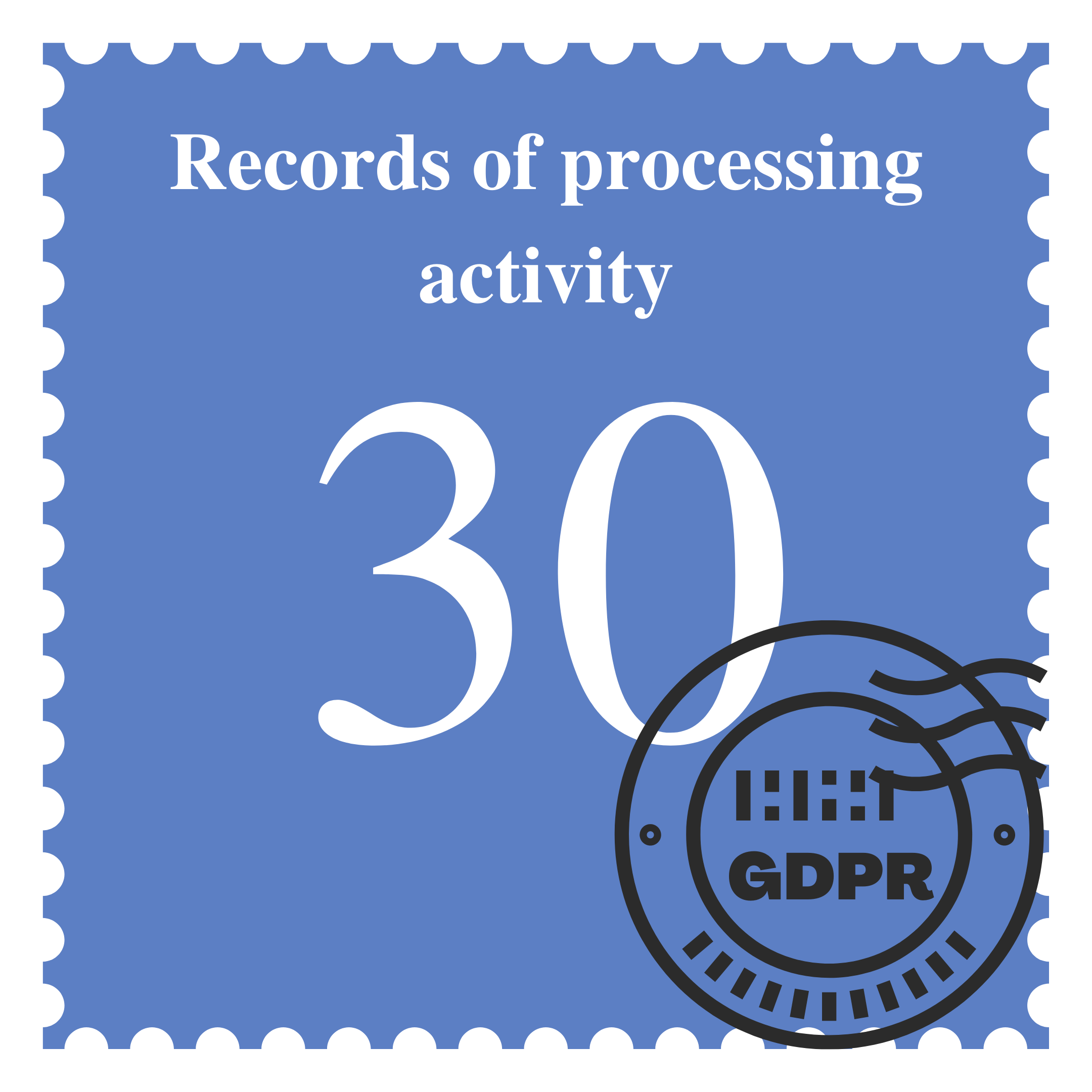 Records of Processing Activity