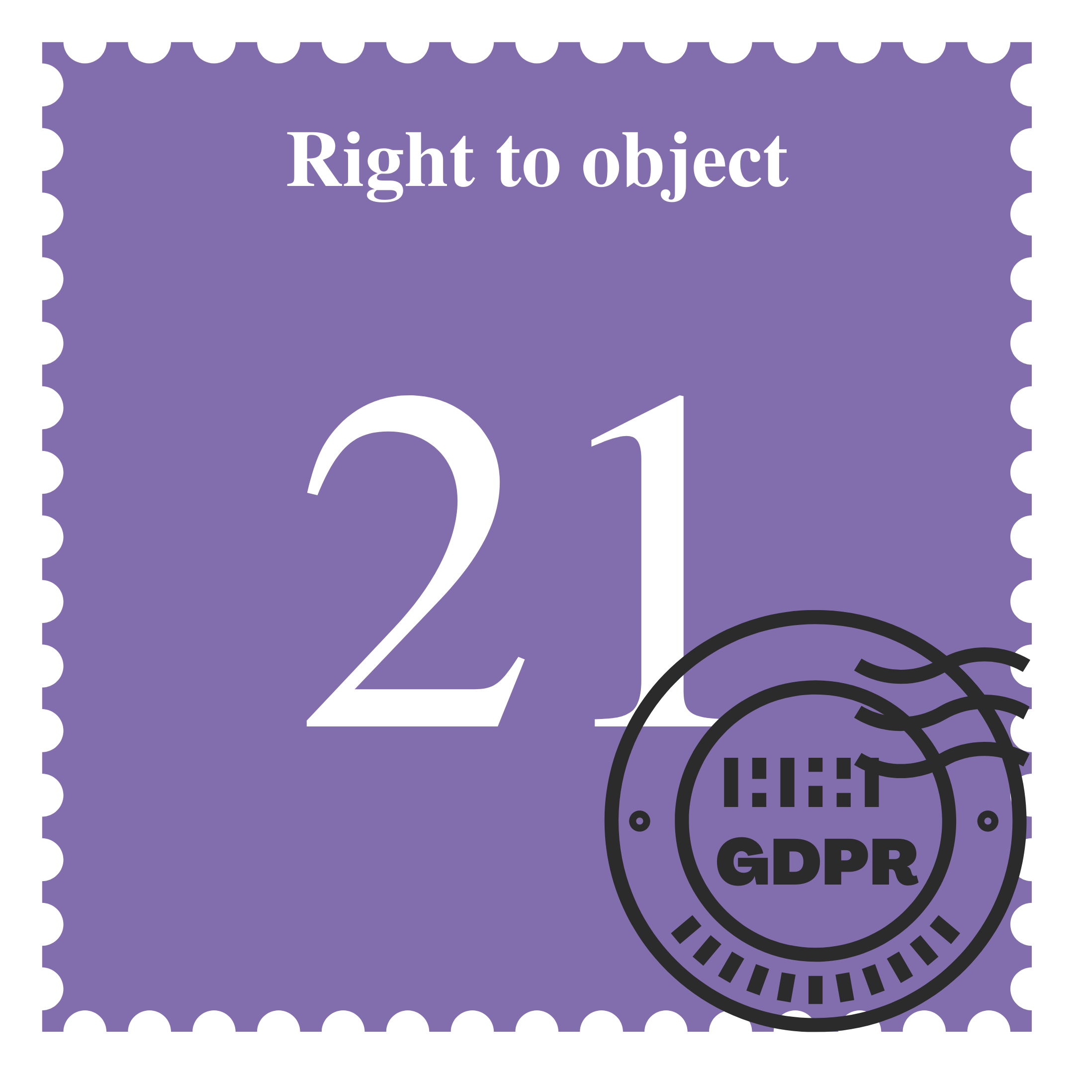 Right to Object