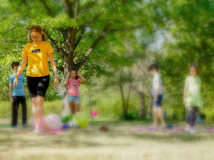Mindfulness, în iarbă