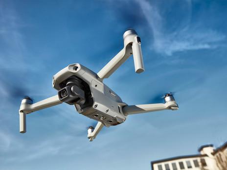 Drohnen-Fotografie und -Video