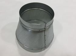 Переход для вентиляции  металлически