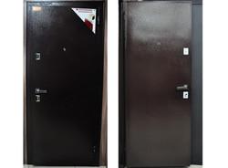 "Дверь ""Бульдорс Steel-12"", медь"