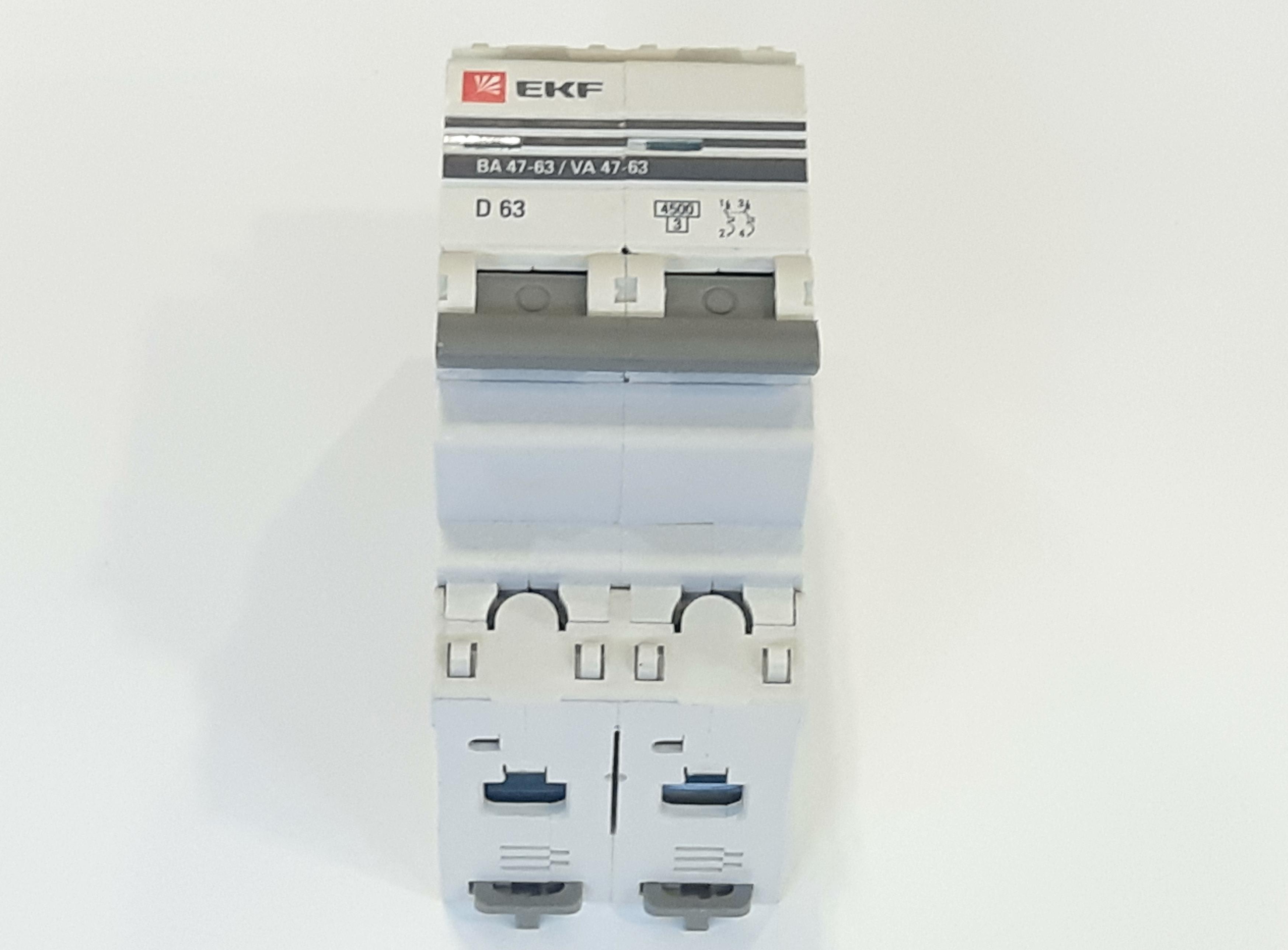 Выключатель автомат. EKF 47-63 2п.