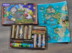 Подарочный набор: пиротехнические игрушки + настольная игра.