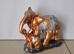 "Статуэтка ""Слон со слонёнком"", 28 см"