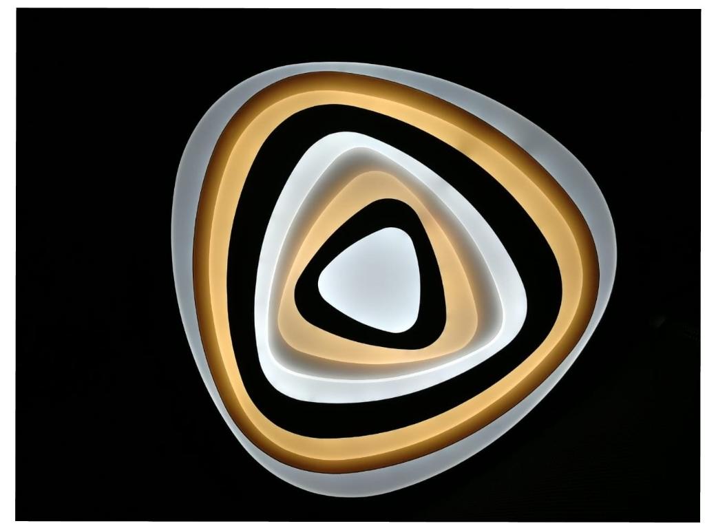 светодиодная люстра Geometria Trio
