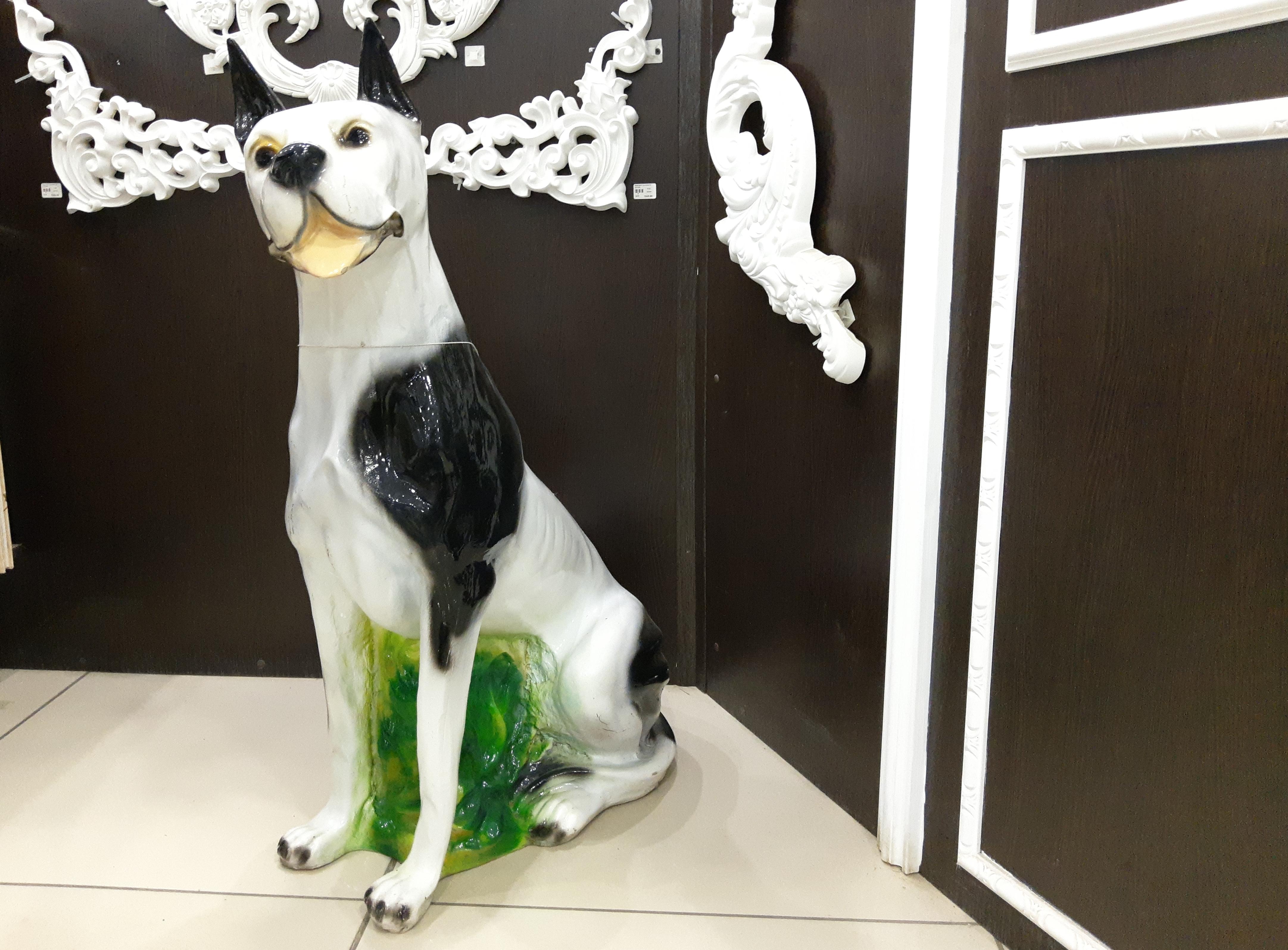 статуэтка декоративная собака