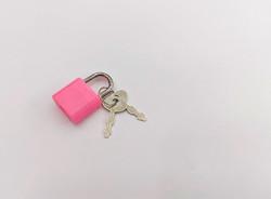 Замочек для шкатулки, металл с ключом, 3,1*1,9 см