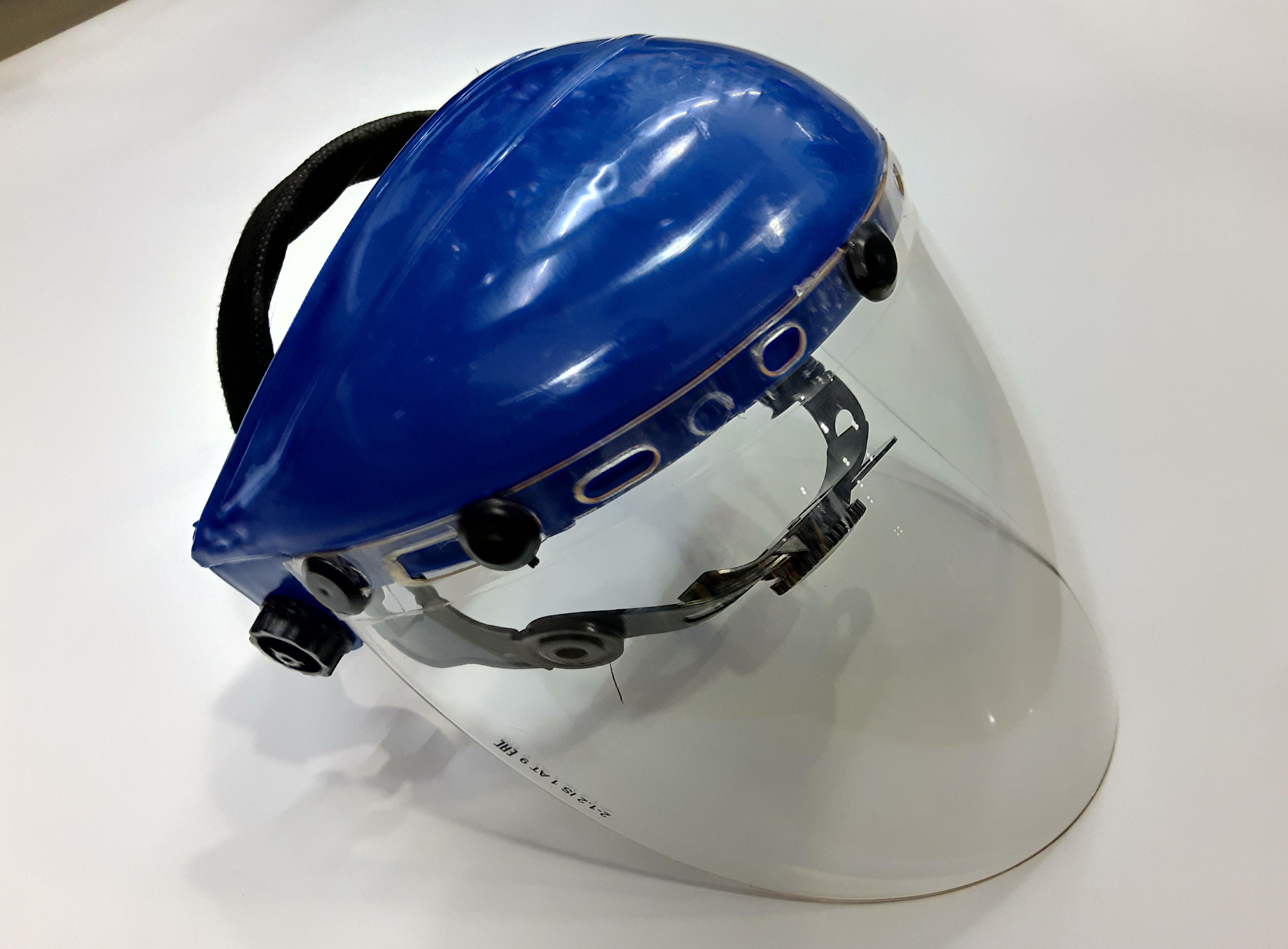 маска защитная оргстекло