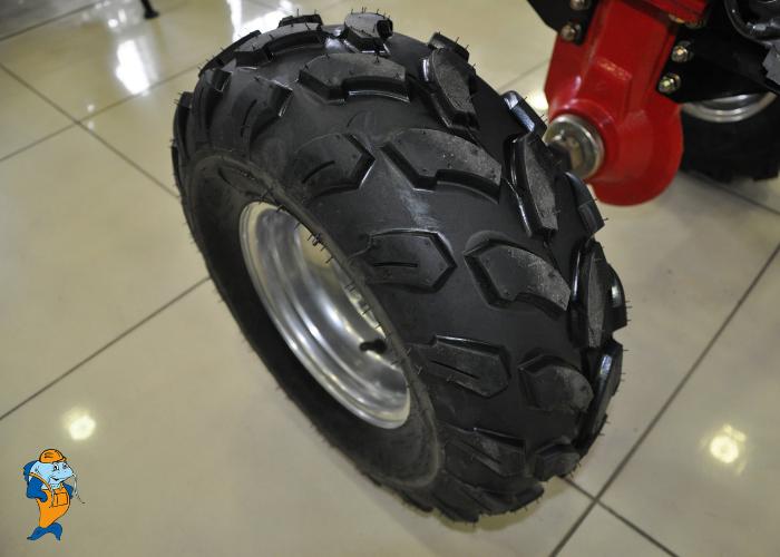 Ширина колеса - 19 сантиметров