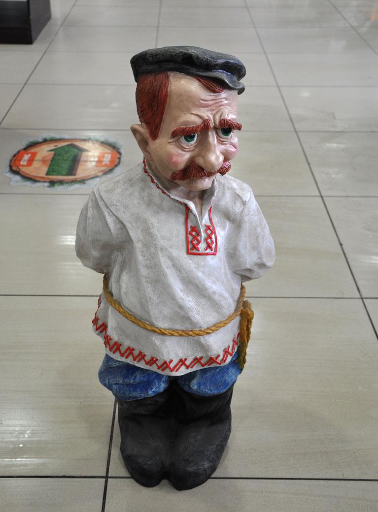 """Декоративная фигура """"Хохол"""""""