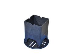 Опора стульчик + подставка для сыпучих грунтов