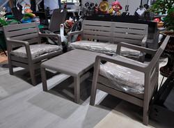 Комплект мебели Delano Set, капучино