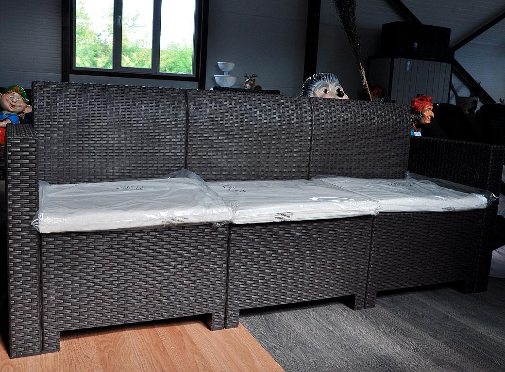 Комплект мебели NEBRASKA SOFA 3-х местный диван венге.