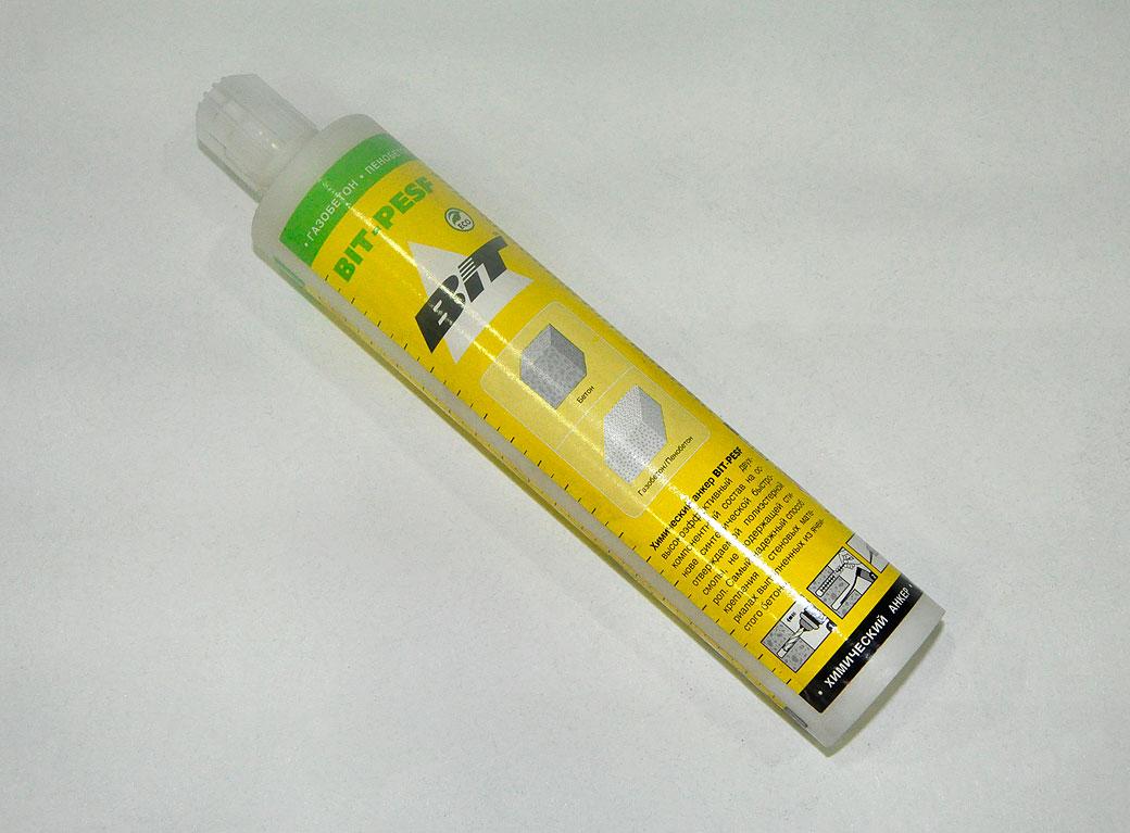 Химический анкер Bit PESF, бетон, газобетон, пенобетон