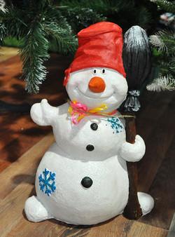 "Фигура ""Снеговик"", 26*20*35 см."