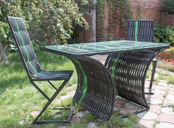 садовая мебель полимерная лоза