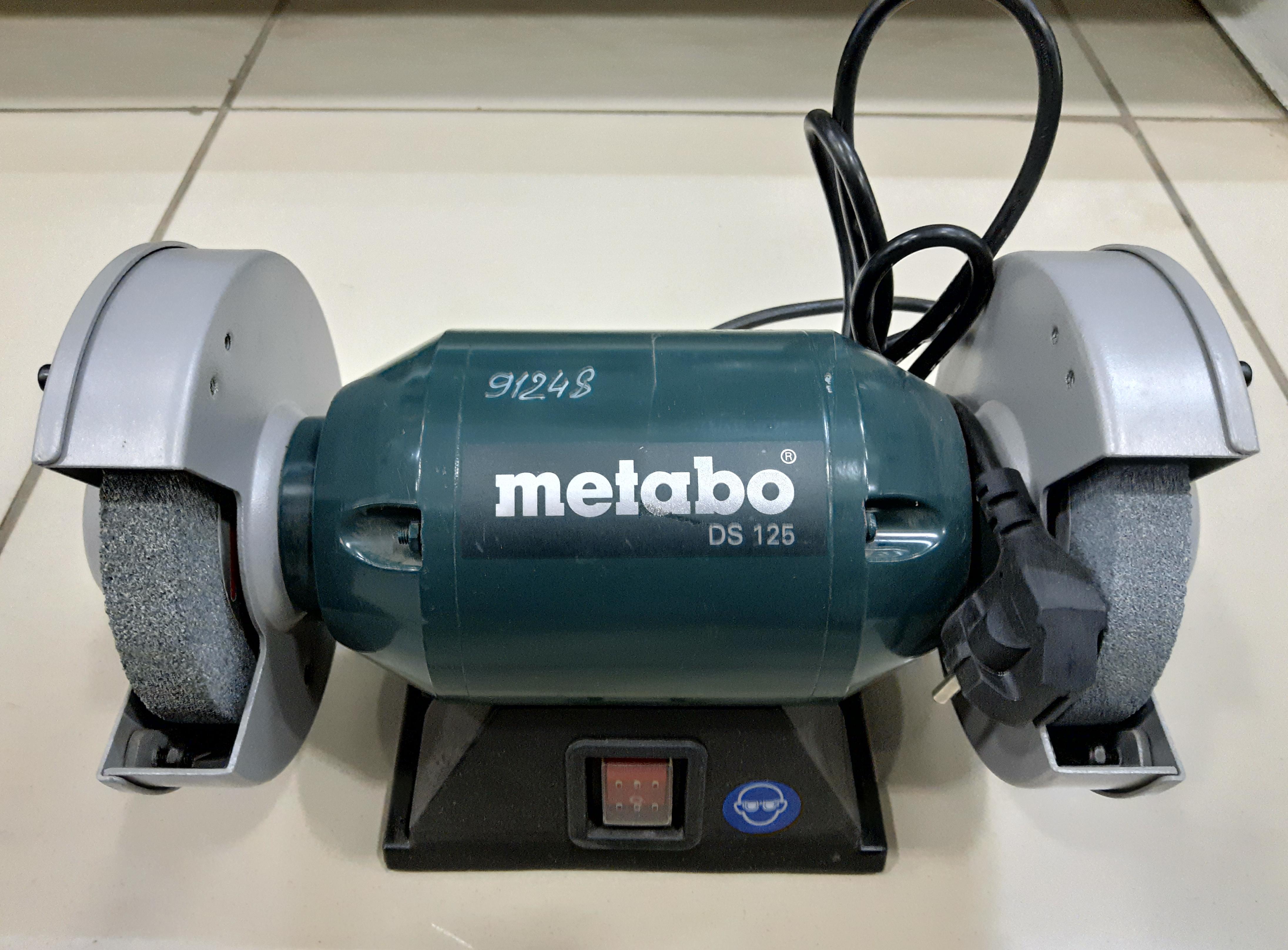 """Точило """"Metabo"""" DS 125 230В/200Вт"""