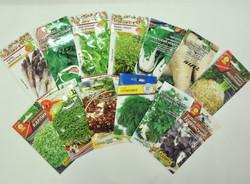 Семена, зелень, специи