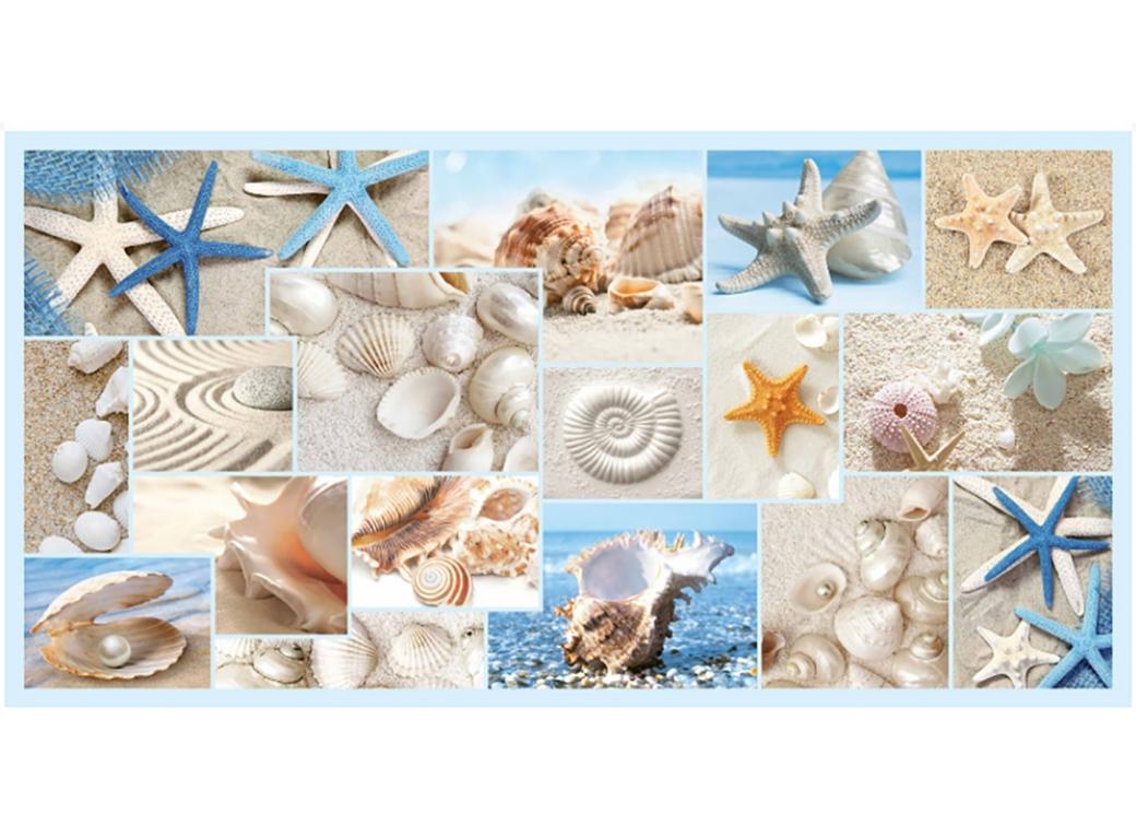Пляж мозаика