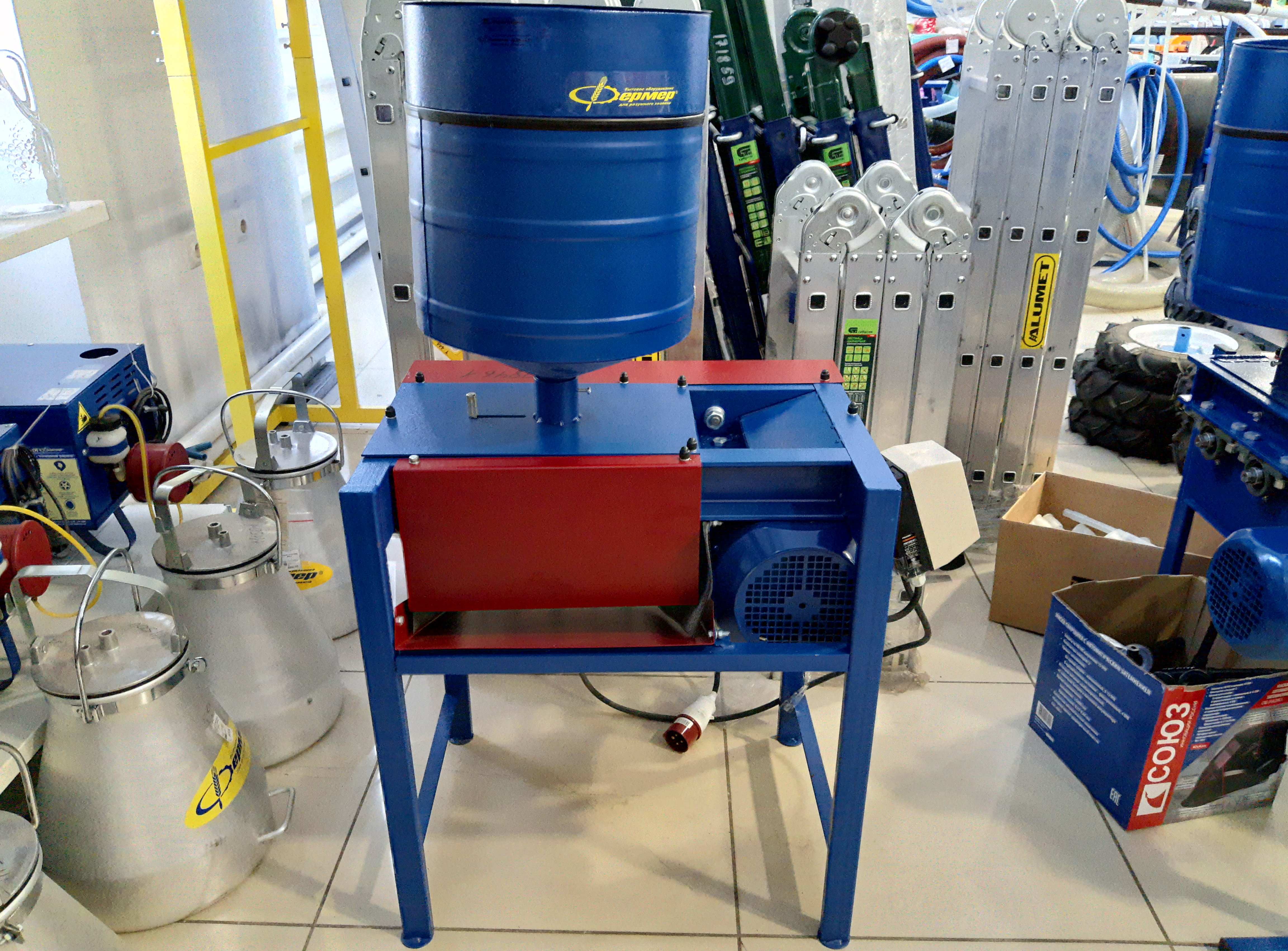 Агрегат плющения зерна АПЗ-01М 380В