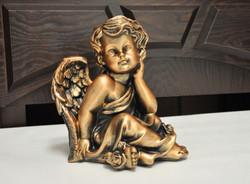 статуэтка ангел бронза