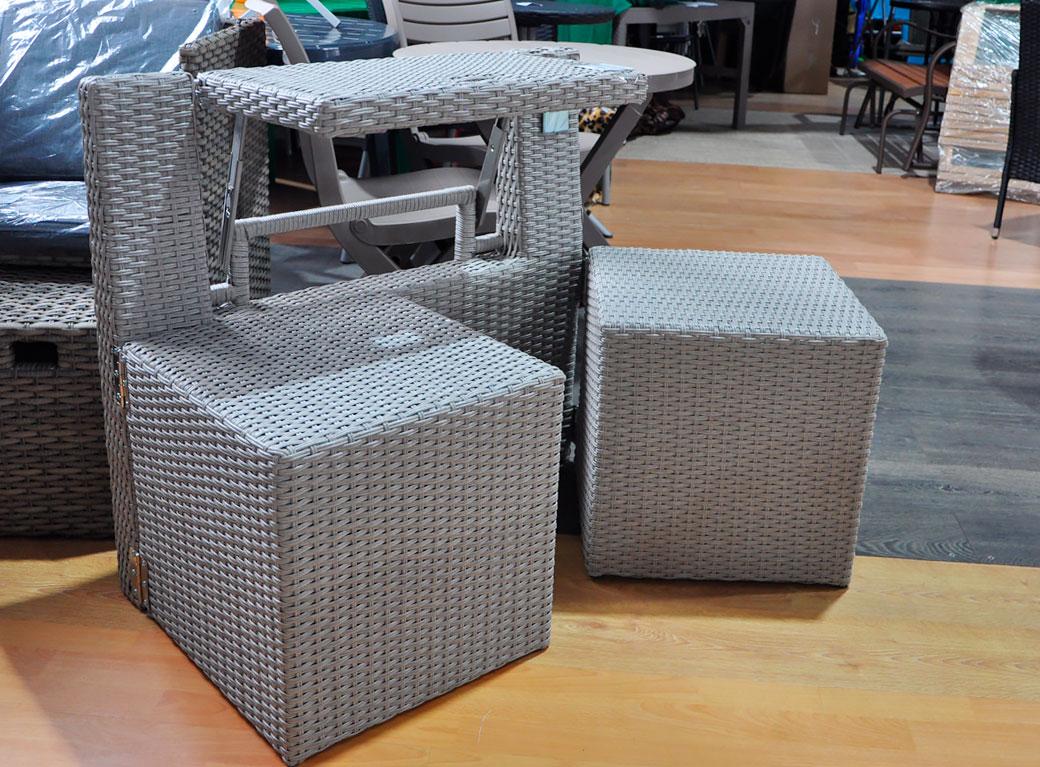 """Комплект мебели для балкона """"Мармарис"""" 180*80*55 см"""