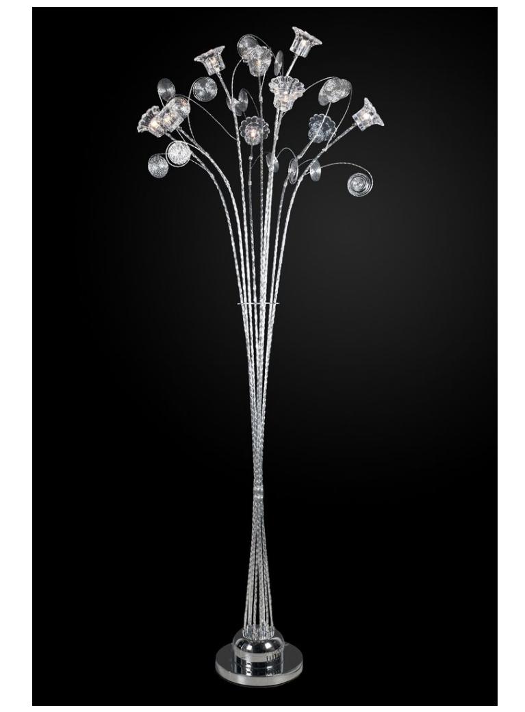 торшер флора 4-2051-9-cr g4