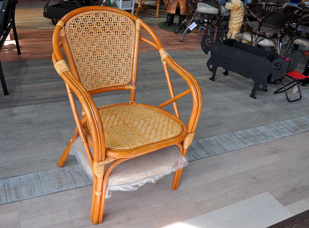 """Кресло """"Elena"""", подушка рогожка"""