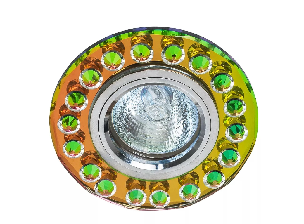 светильник точечный d2001 cr rnb+cl